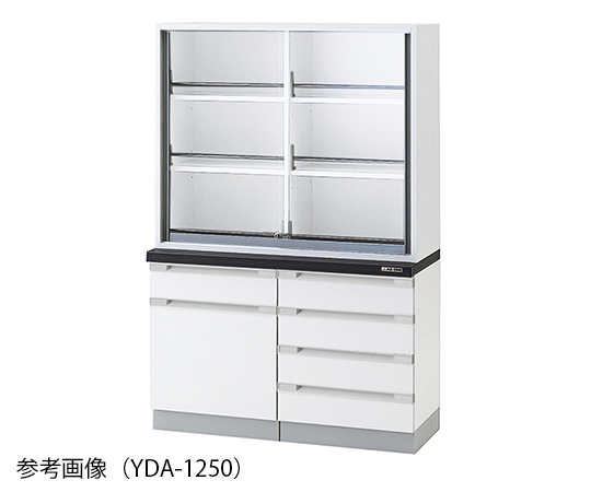 AS ONE 3-5842-13 YDA-1550 Chemical Instrument Cabinet 1500 x 400/500 x 1800mm
