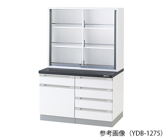 AS ONE 3-5767-12 YDB-1275 Chemical Instrument Cabinet 1200 x 400/750 x 1800mm