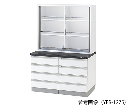 AS ONE 3-5770-12 YEB-1275 Chemical Instrument Cabinet 1200 x 400/750 x 1800mm