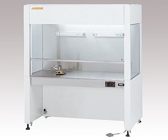 AS ONE 3-1145-03 ICB-1600J Bio Clean Bench (ISO 5 (class 100), 1570 x 485 x 720mm)