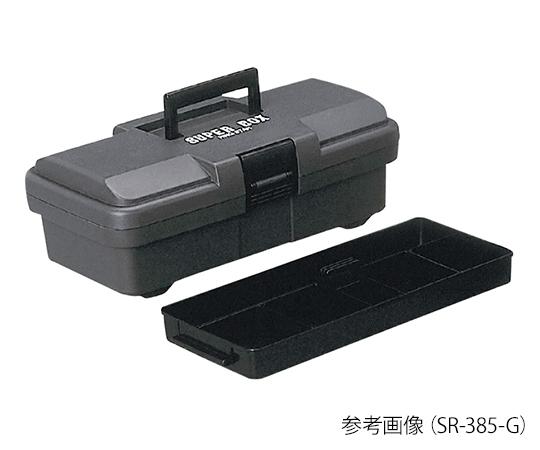 RING STAR SR-385-G Tool Box (Super Box) 202 x 385 x 140mm Gray
