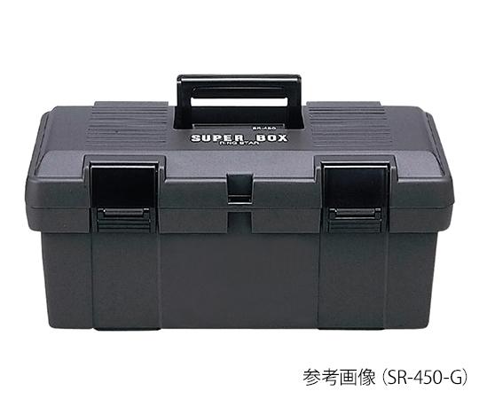 RING STAR SR-450-G Tool Box (Super Box) 243 x 450 x 210mm Gray