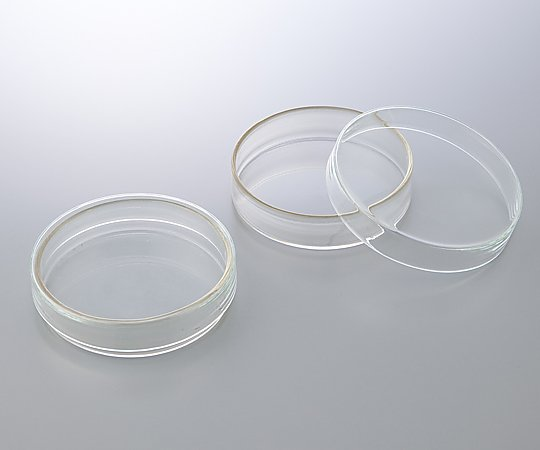 AS ONE 2-3977-02 3160072 Petri Dish (BOROSIL(R)) φ80 x 17mm