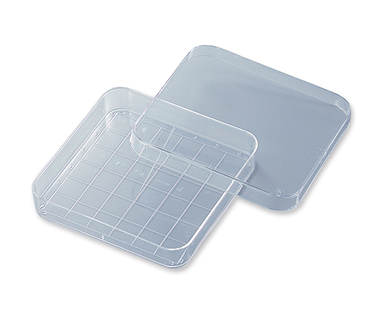 AS ONE 2-4727-01 D-210-16 Probio Petri Dish 96 Angle with Scale on Grid 10 Pieces x 50 Pack