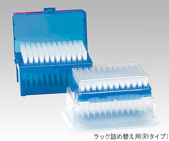 AS ONE 1-7910-48 2065E-RI Filter Tip (ART) 96/Pack x 10 Packs (Refill)