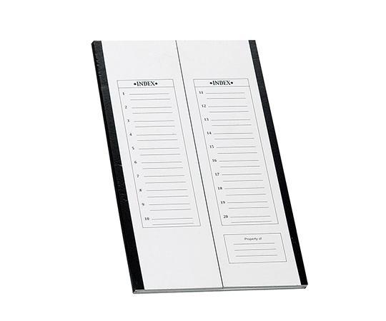 AS ONE 3-6020-01 HS9902 Slide Tray Black (Paper, 208 x 341 x 9mm)