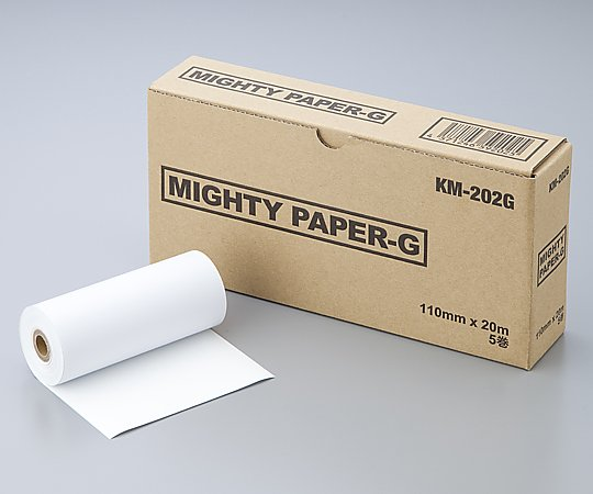 AS ONE 0-9218-21 KM-202G Ultrasonic Image Recording Paper Mighty Paper G 5 Rolls