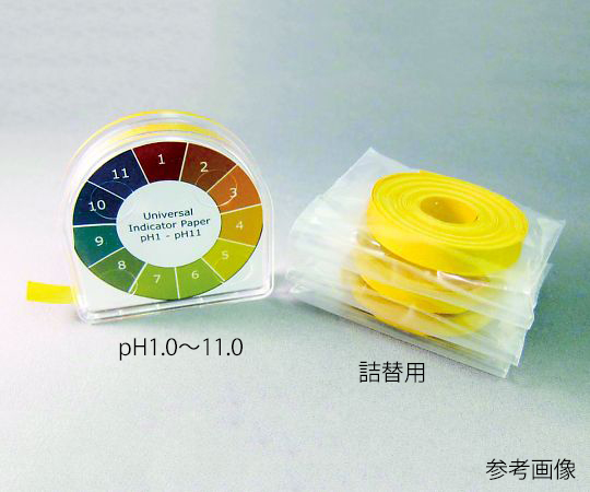 AS ONE 3-8945-12 pH Test Paper pH 1.0 to 14.0 Refill 3 Rolls