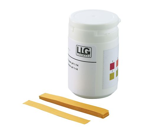 LLG (AS ONE 3-9254-01) pH Test Paper (Cut Type) pH 1 to 14 100 Pieces