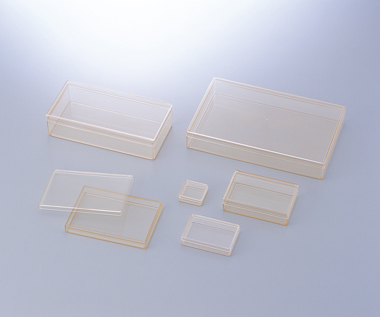 AS ONE 1-4630-41 ABS Uncharged Square Case Type 36 x 36 x 14mm 50 Pcs