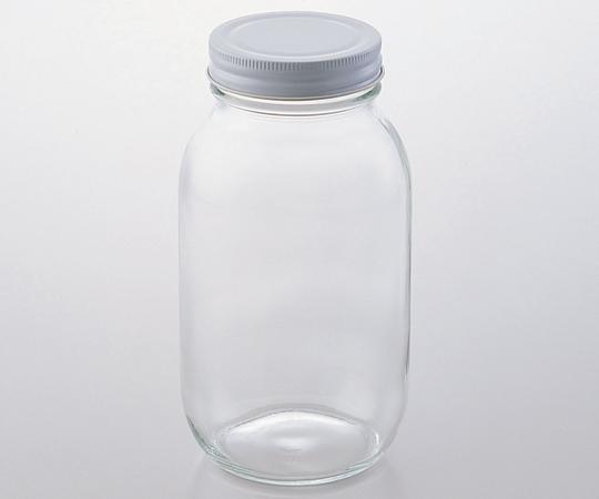 Chai thủy tinh miệng rộng 484.5mL (30 cái/ hộp) AS ONE 1-4984-01 M-450