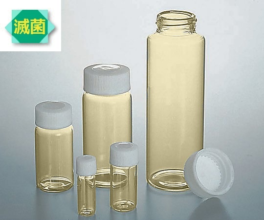AS ONE 7-2110-38 No.6-ST Screw Tube Bottle (SCC) (γ Ray Sterilized) No.6-St 30mL