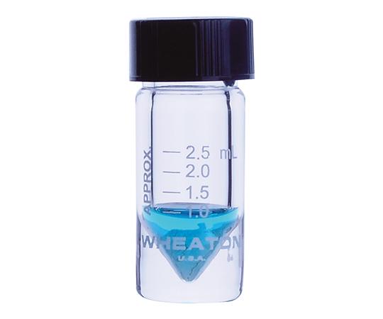 WHEATON W986297NG Mini Vial Open Top Cap 3mL Scale Yes (USP Type I and ASTM E438 Type I)