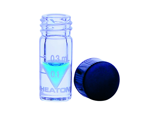 WHEATON W986279NG Mini Vial Solid Cap 5mL Scale Yes (USP Type I and ASTM E438 Type I)