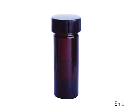 WHEATON W986339NG Shading Mini Vial Solid Cap 5mL (USP Type I)