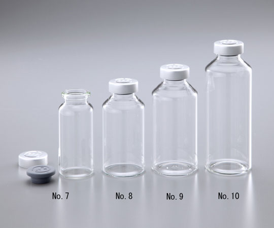 AS ONE 1-8524-01 No.7 Wide-Mouth Vial Bottle NO.7 50mL 50 Pieces