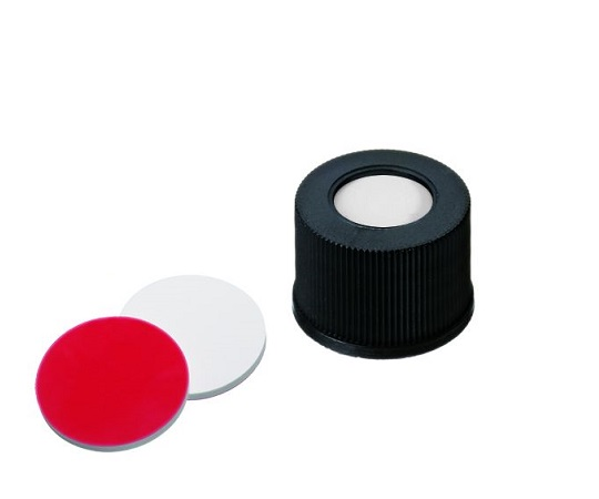 LLG Labware 10151257 Auto Sampler Vial LLG Labware Black Cap 100 Pieces