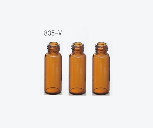 AS ONE 2-865-03 835-V Autosampler Vial (1.5mL, USP type1, Brown, 100 pcs)