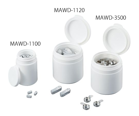 Eagle Thermoplastics MAWD-3500 Micro Aluminum Plate 0.35mL 100 Pieces